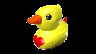 Cyan Duck 4 colour